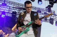 Vocalist/Guitarist Rivers Cuomo of Weezer, City of Trees, Bonney Field, Sacramento, CA. September 10, 2016. Photo Anouk Nexus