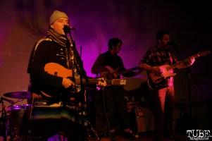 Gabriel Nelson vocalist/guitarist, Steve Randall vocalist/guitarist and bassist of Bellygunner, Red Museum, Sacramento, CA. December 07, 2016. Photo Anouk Nexus