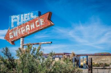 Abandoned Gas Station, Utah