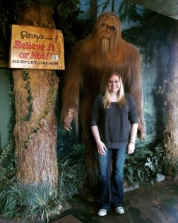Bigfoot sighting in Newport!