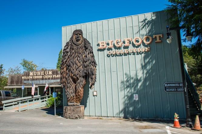 Willow Creek - Bigfoot Museum
