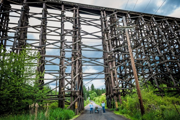 Rock Creek Tavern and Dick Road Railroad Trestle-39