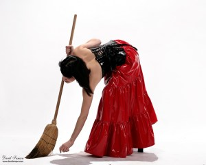 sweeping A_Cinderella_by_DavidSamson