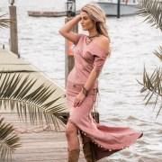 Gypsy rok oud roze