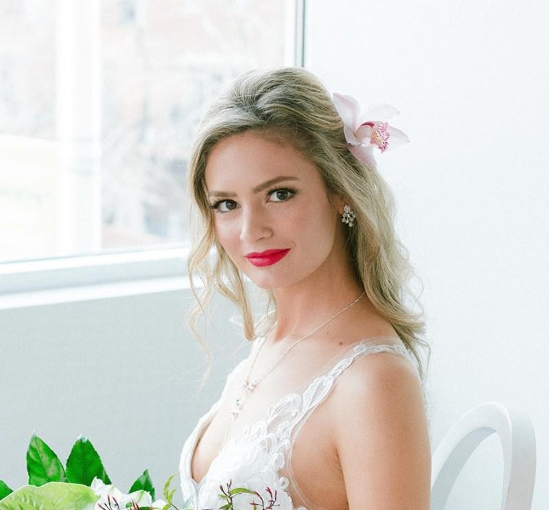 Cluster Earrings for Brides