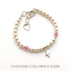 PB21-cross-birthstone-pearl-bracelet-FOR-girls