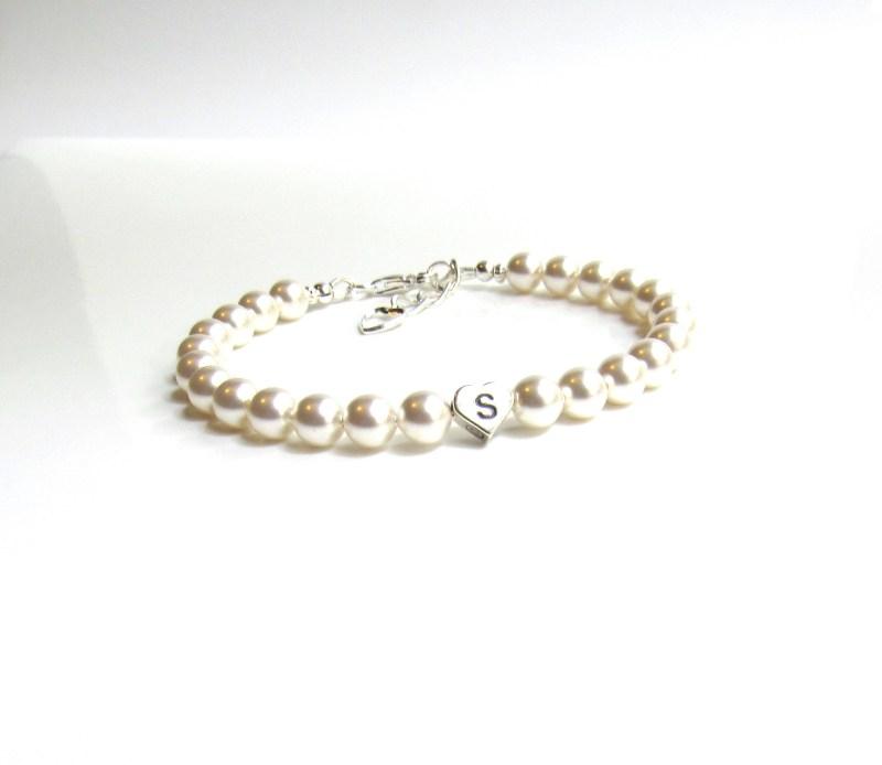 Personalized Pearl Bracelet for Women