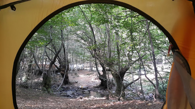 Erikli Yaylası çadır manzarası