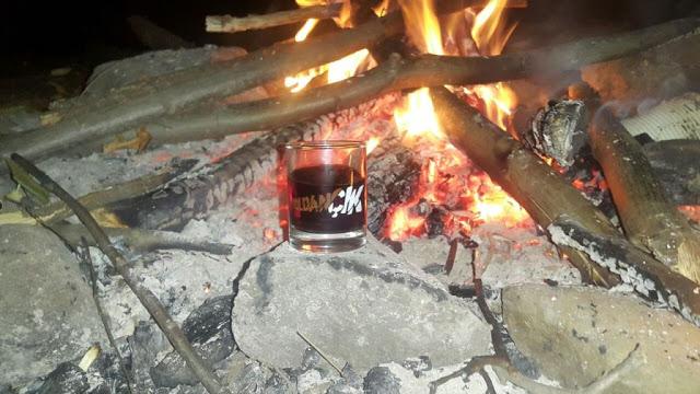 Erikli Yaylası kamp ateşi