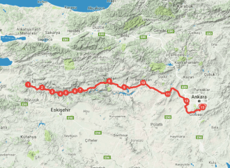 Bicycle Route In Turkey: Green Route