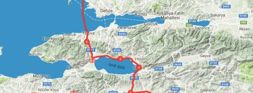 İstanbul'a yakın kamp yerleri