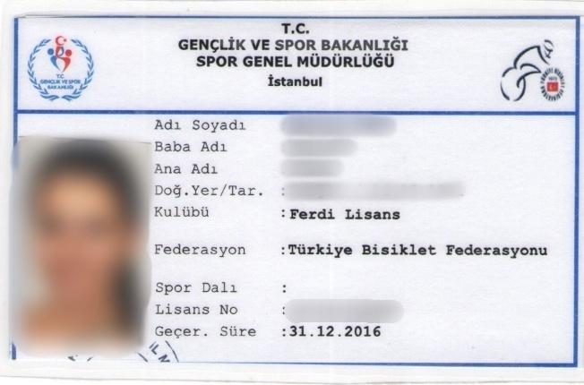 bisiklet lisansı