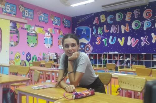 Tayland'ta İngilizce Öğretmeni