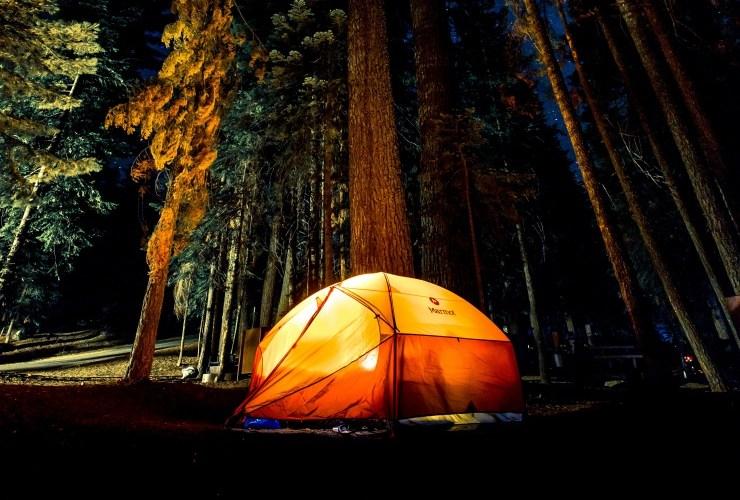 çadırda kalmaktan korkuyorum Camping fears