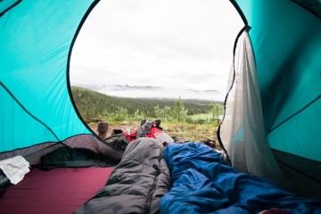 kış kampı için uyku tulumu