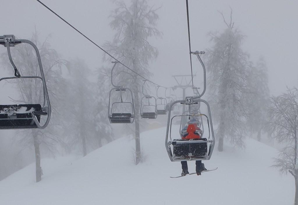 Kartepe'de kayak yapmak telesiyej