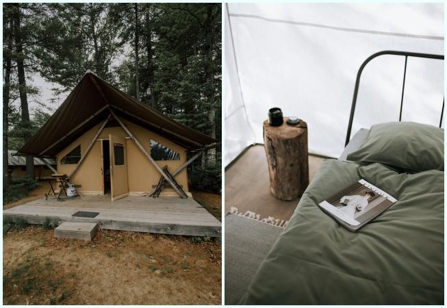 Glamping ile kamp arasındaki farklar