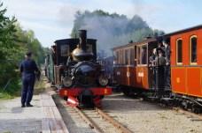 Östra Södermanlands järnväg, museibanans dag, Hedlandet