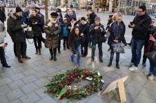 30 år sedan Olof Palme mördades, mordplatsen, Sveavägen x Tunnelgatan