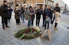30 år sedan Olof Palme mördades, mordplatsen, Sveavägen