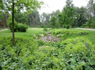Lilla Sköndal, park
