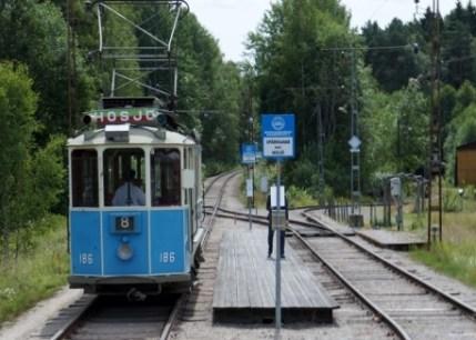 GS 186 vid Trumslagarskogen, Spårvägsmuseet Malmköping