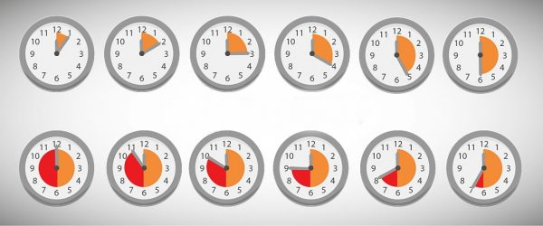 Toy Clock Näytä 3 tuntia