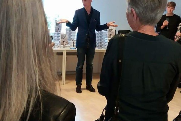 Event med David Lagercrantz