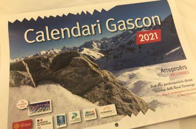 Calendari Gascon disponible à la mairie de Melles