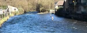 Ouverture de la pêche à Saint-Béat les pieds dans l'eau