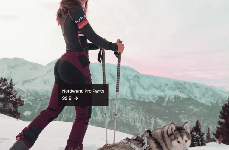 Pantalon Femme RVRC Nordwand