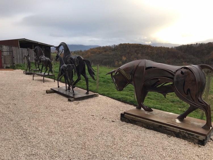 Emmanuel Keiffer artiste sculpteur à Figarol