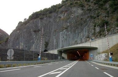 Ouverture du tunnel de Saint-Béat