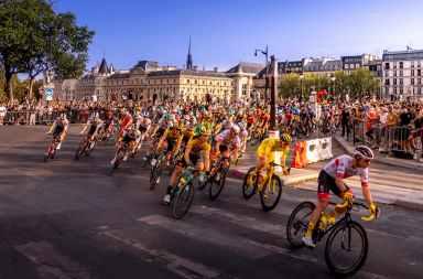 Arrivée du Tour de France à Saint-Gaudens