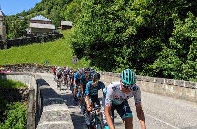 Route d'Occitanie grimpeurs