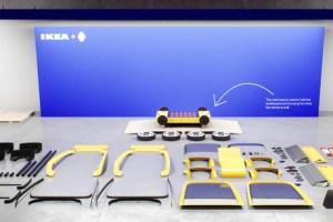 Ikea Renault Hoga voiture en kit 374 pièces