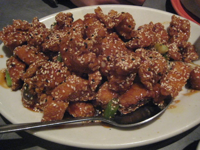Golden Wok |San Antonio, Texas | Sesame Chicken
