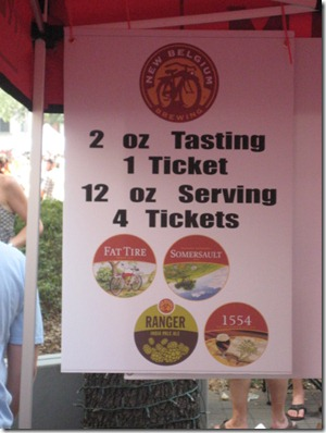 2011 Houston Beer Fest | New Belgium