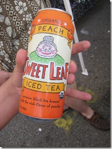 2011 Houston Beer Fest | Sweet Leaf Peach Ice Tea