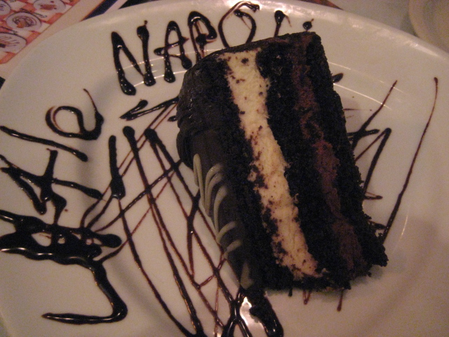 Little Napoli Italian Cuisine | Houston, Texas | Chocolate Mousse