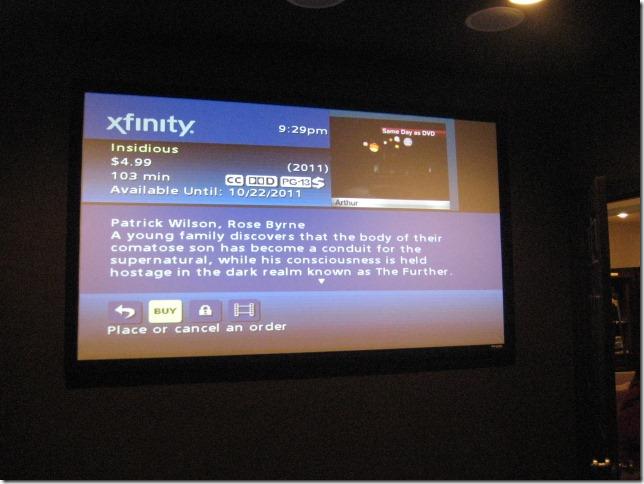 Michelle's Movie Room   Jumbo Screen