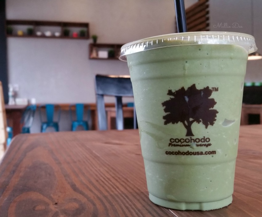 Cocohodo | Katy, Texas | Ice Blended Green Tea Latte