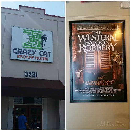 Crazy Cat Escape Room | Western Saloon Robbery