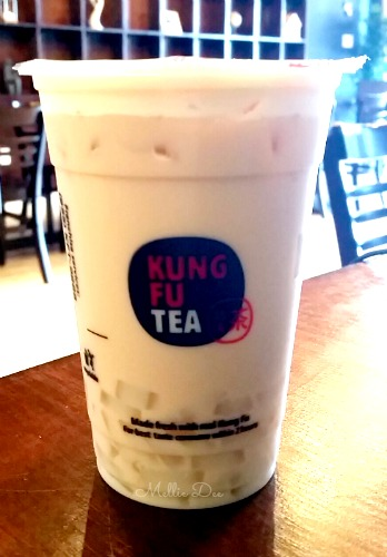 Kung Fu Tea | Katy, Texas | Almond Milk Tea with Nata Jelly