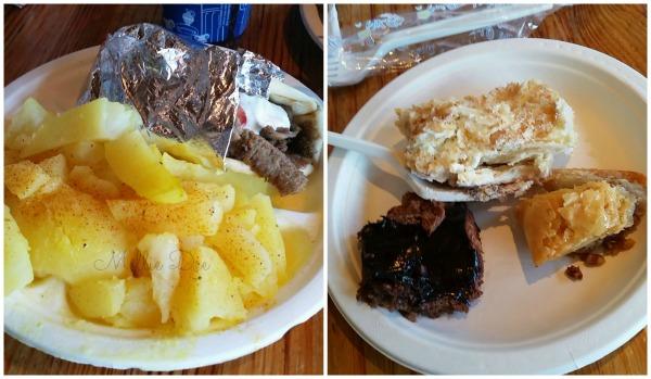 Niko's Niko's | Houston, Texas | Gyro Sandwich, Oven Potatoes, Dessert