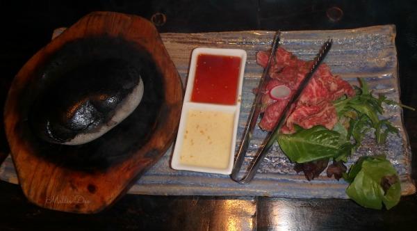Kingyo Japanese Izakaya| Vancouver, Canada | Stone-Grilled Kobe Beef