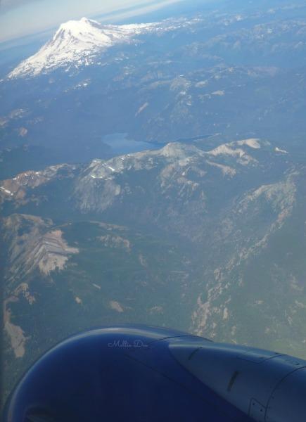 Mount Rainer | Seattle, Washington | Outside Aircraft