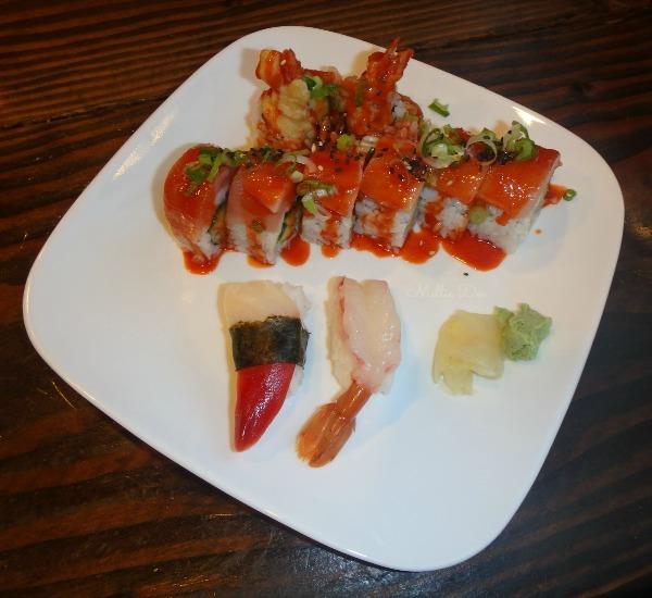 Sapporo Japanese Restaurant | Vancouver, Canada | Volcano Roll, Ama Ebi, Hokikai