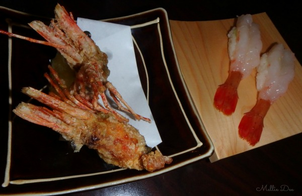 Shiro's Sushi | Seattle, Washington | Sweet Shrimp & Fried Shrimp Heads