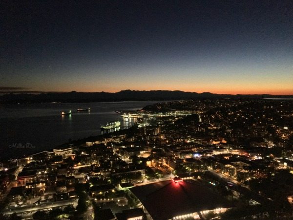Space Needle | Seattle, Washington | Sunset View